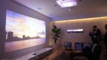 ソニービルで超短焦点4K壁プロジェクタほか Life Space UX を国内初展示。3月19日から4月13日まで