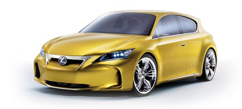 Lexus LF-Ch concept wants to bring Prius hybrid utility to sporty hatchbacks