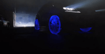 Watch this Lexus NX concept roll out on wheels made of ice