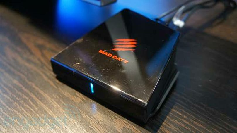 Mad Catz M.O.J.O. Android console, C.T.R.L. Wireless GamePad hands-on (video)