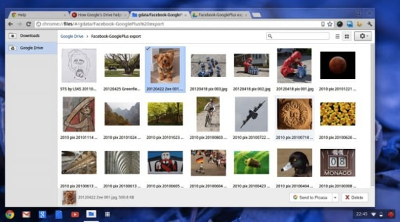 Google Drive now offers a bumpy ride for Chrome OS dev-channel users