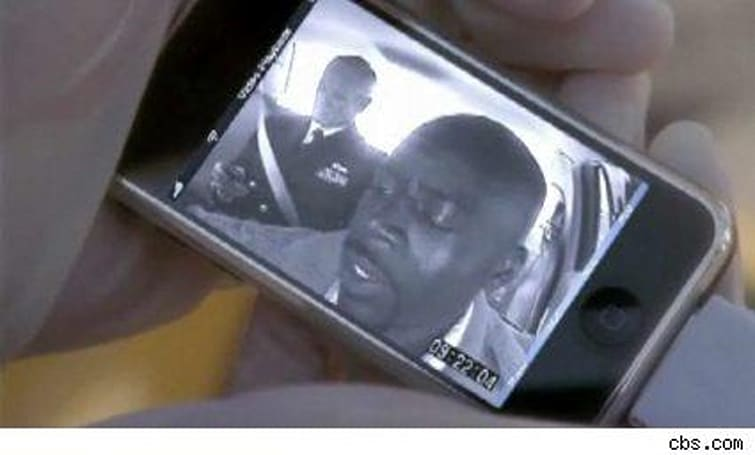 NCIS features an oddly full-featured iPhone