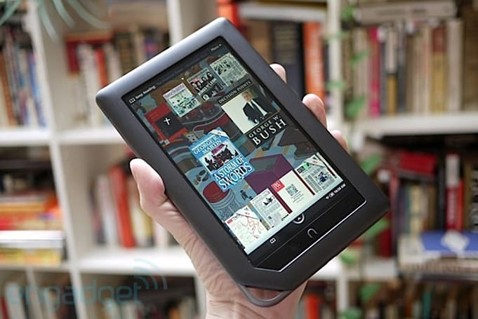 Nook lineup sells millions, Barnes & Noble's best-selling product of all-time