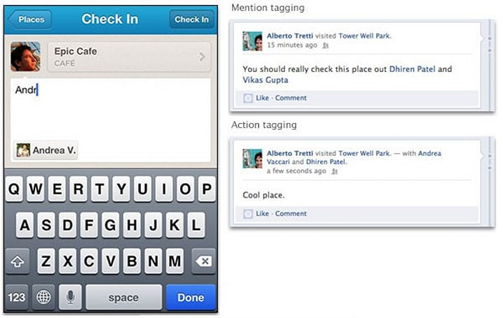 Facebook adds mention tagging to Open Graph for more efficient name-dropping