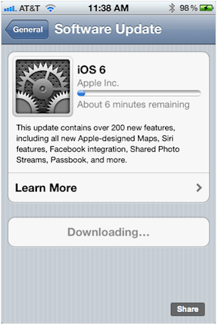 iOS 6 now available to download for iPhone, iPad and iPod touch (update: full changelog)
