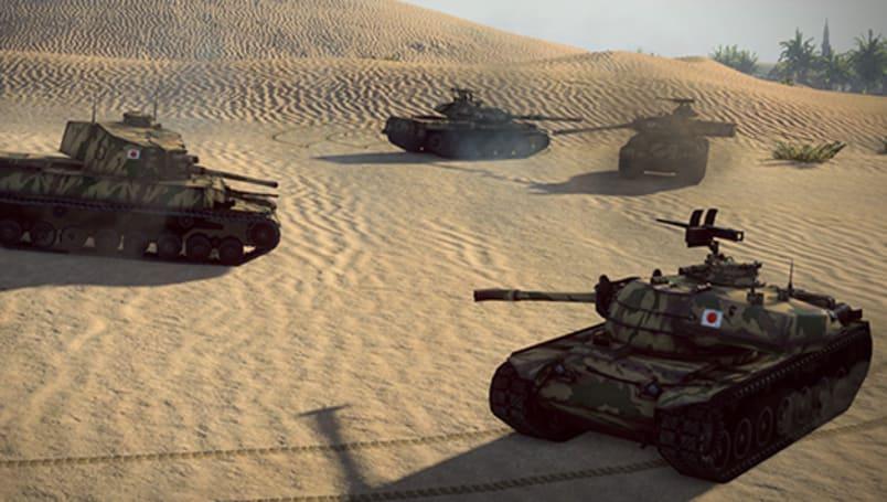 World of Tanks update brings Japanese armor