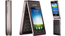 Samsung Hennessy is official: a dual-screen flip-phone with a quad-core CPU