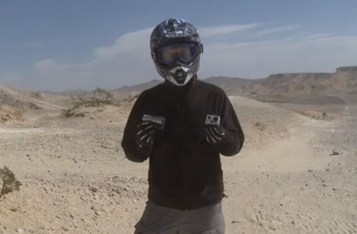 Contour+ vs. GoPro HD Hero 2: through the desert and into the skies