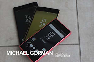 Xperia Z5, Z5 Premium, and Z5 Compact Hands-On