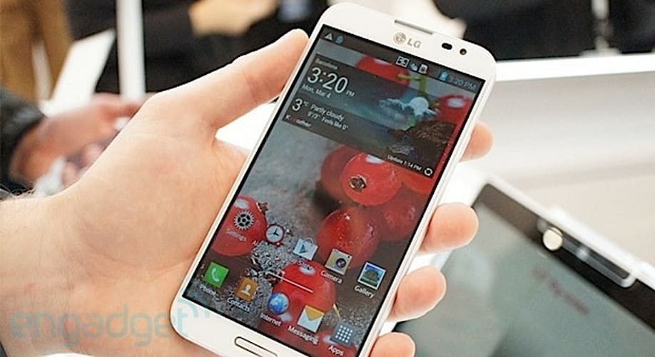 LG's 5-inch Optimus G Pro launches in Japan