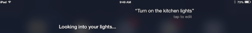 An early look at Siri and HomeKit