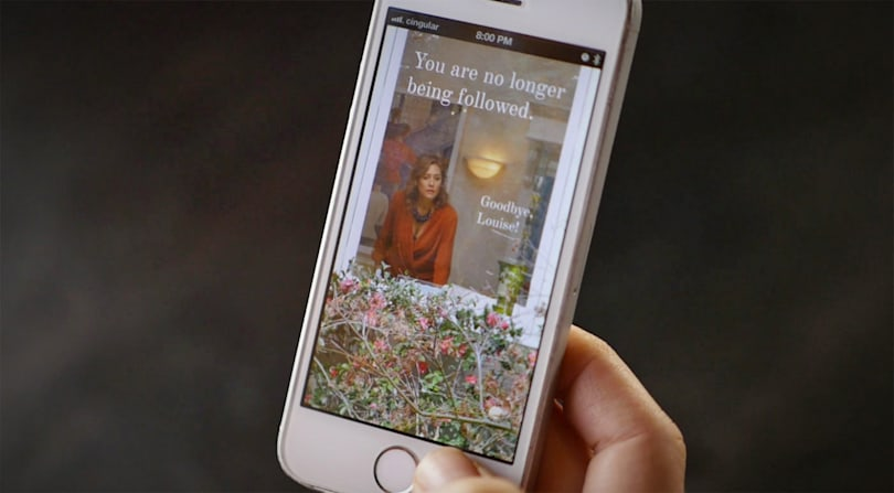 Like being followed around all day? There's an app for that