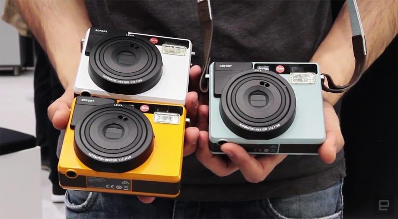 徕卡 Sofort 拍立得相机在香港开卖