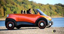 ECOmove QBEAK EV unveiled, grows a roof but no actual beak (video)