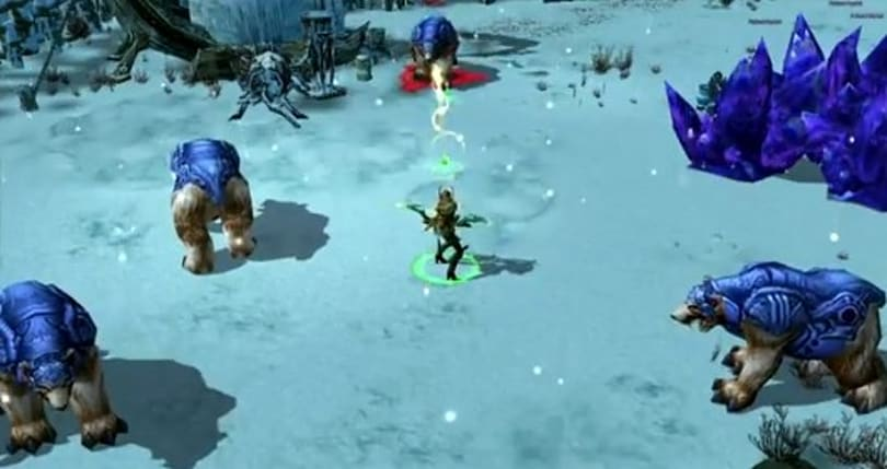 Snipers and biters: War of the Immortals opens up on Rangers and pets
