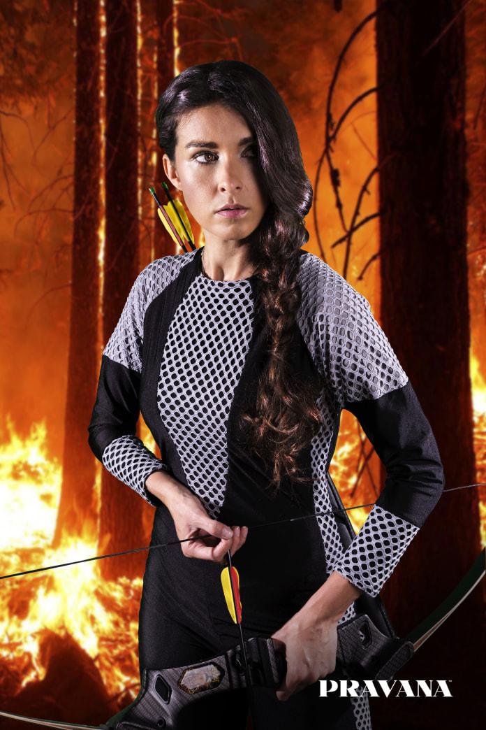 Halloween how-to: Katniss Everdeen's Mockingjay braid