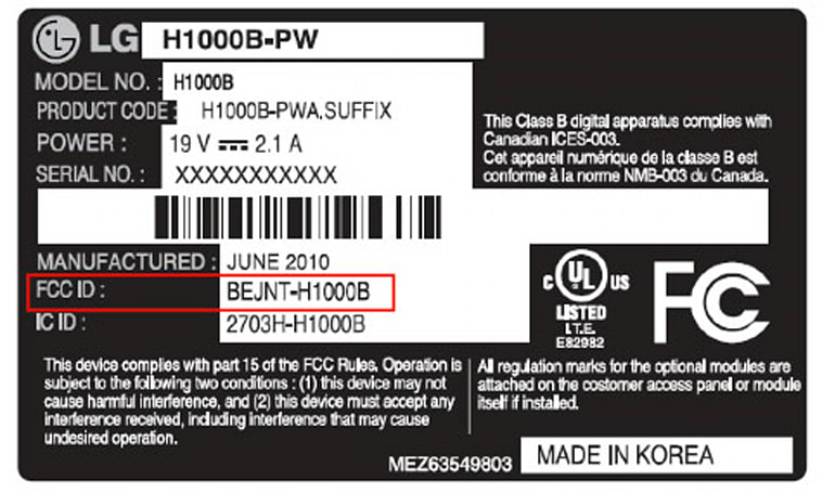 LG H1000B Windows 7 tablet emerges at FCC, mystifies in almost every way