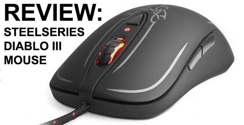 Steelseries Diablo III mouse is built for intense clicking