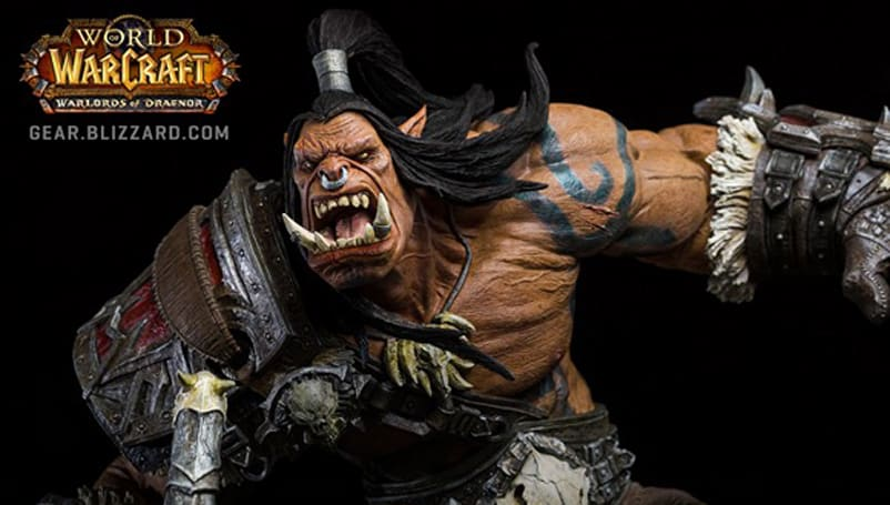 Grommash Hellscream statue now available for pre-order