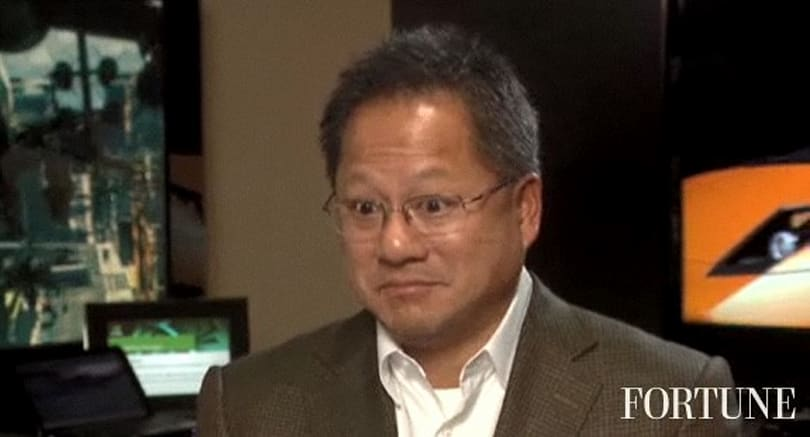 Jen-Hsun Huang is 'looking forward' to court date with Intel, sees no reason to settle (video)