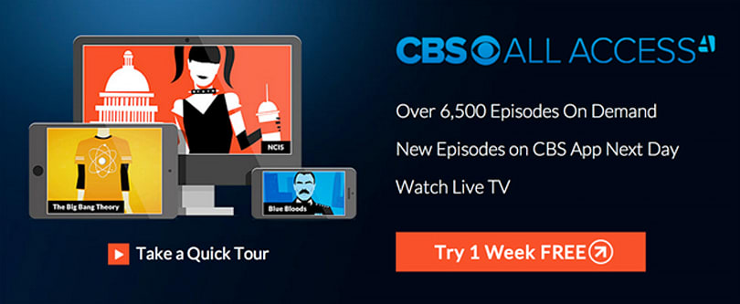 CBS launches its own TV-streaming service for $6 a month