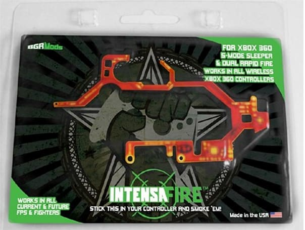 IntensaFIRE chip adds programmable / rapid fire modes to Xbox 360 controllers