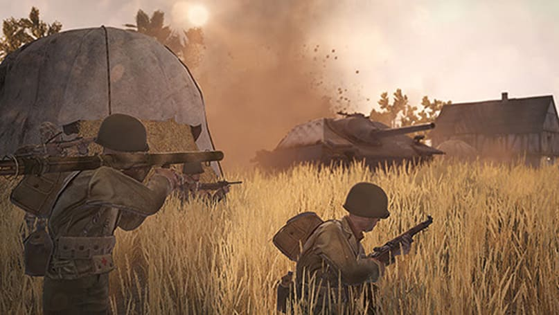 Heroes & Generals adds map, weapons, limited army resources