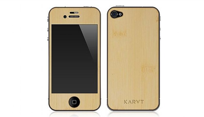 Surprisingly affordable wooden iPhone skins