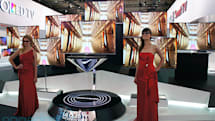 LG's 55-inch OLED TV enters the third dimension, we slide on our glasses (hands-on video)
