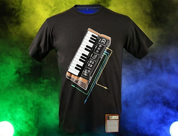 ThinkGeek's synth shirt brings a new wave to your wardrobe