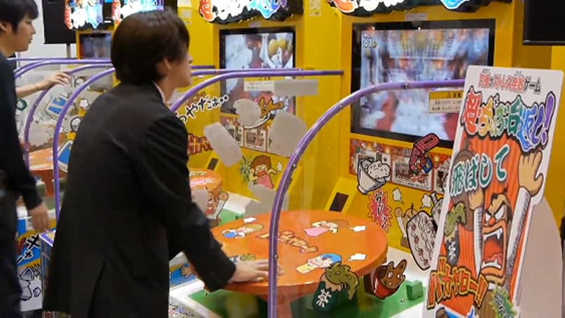 Table-flipping becomes subject of Japanese arcade game
