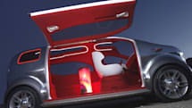 Ford Airstream hydrogen-powered concept: automobile or space capsule?