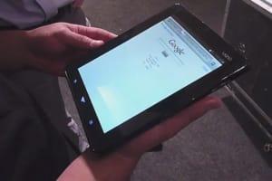 Vizio Tablet Hands On