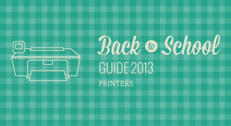 Engadget's back to school guide 2013: printers