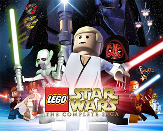 Lego Star Wars: The Complete Saga to brick 360, PS3, Wii, DS