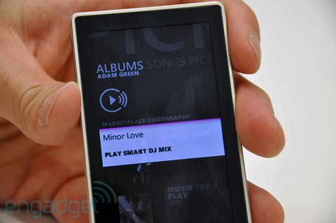 Zune HD v4.5 firmware now available