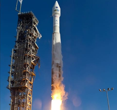 NASA launches Landsat 8 satellite to better study the skies above, water below