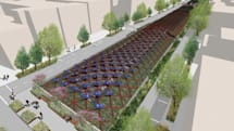 Proposal would put a solar garden on the Brooklyn-Queens Expressway