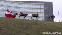 Boston Dynamics wishes you a terrifyingly happy holiday
