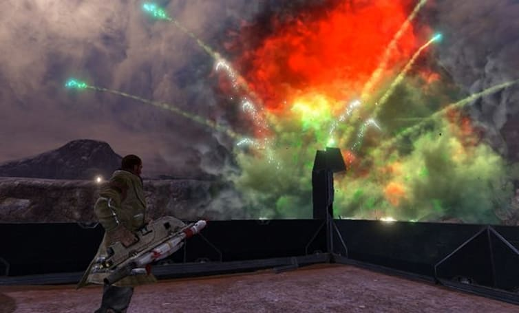 Red Faction: Guerrilla assembles DLC for PC retail assault