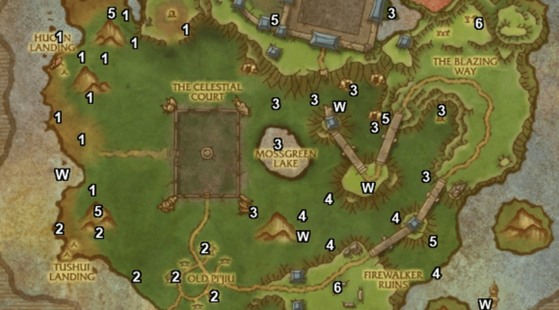 Guide to every chest on the Timeless Isle