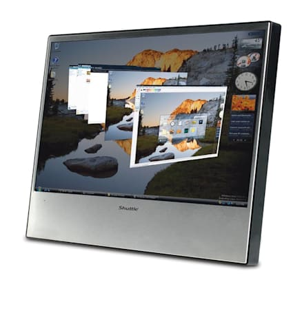 Shuttle XP19 touchscreen display's official images and specs unearthed