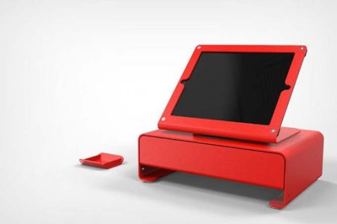 Heckler Design's iPad Cash Drawer brings minimalism to sales terminals