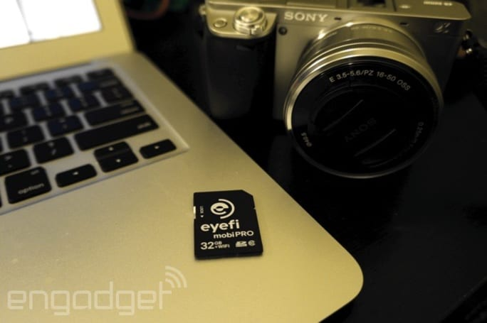 You won't miss camera cables with Eyefi's latest wireless SD card