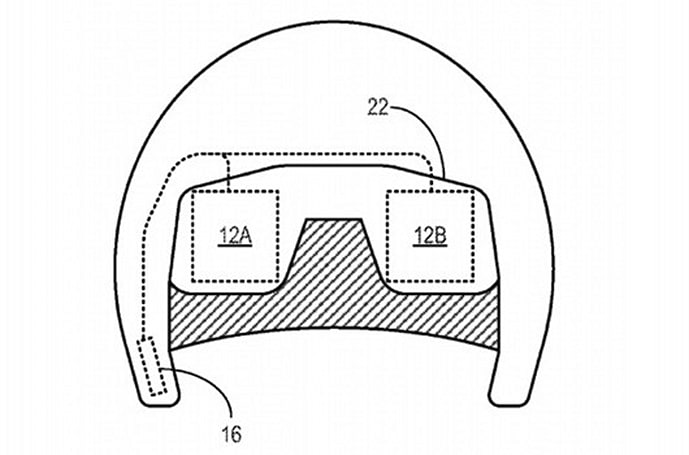 Here's a Microsoft patent for a bizarre gaming helmet