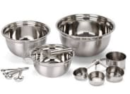 12 Piece Stainless Steel Mixing Bowls