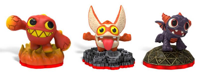 Bite-sized Minis figures invade Skylanders Trap Team