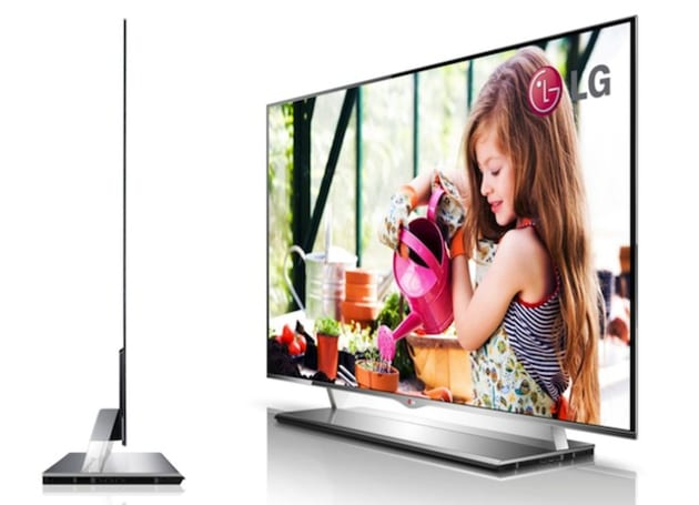 LG's 55-inch OLED HDTV gets UK launch details: £9,999, ships in July