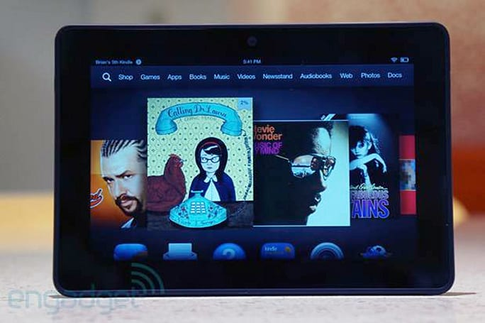 Amazon launches Fire HD, HDX and Kindle Store in Australia