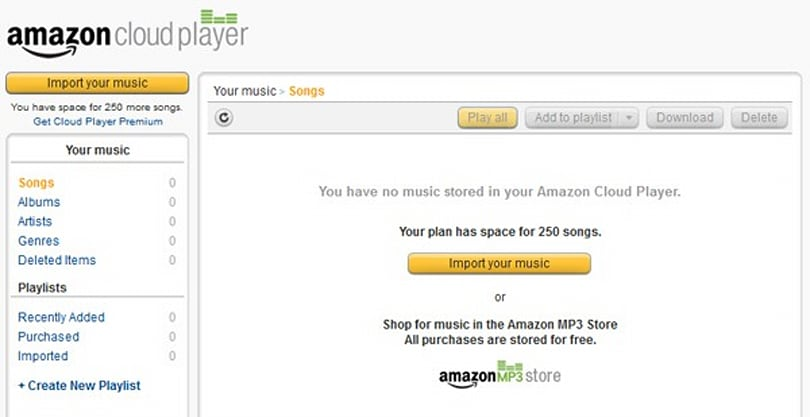 Amazon brings Cloud Player music service to the UK: choice of free or premium tiers from £22 per year